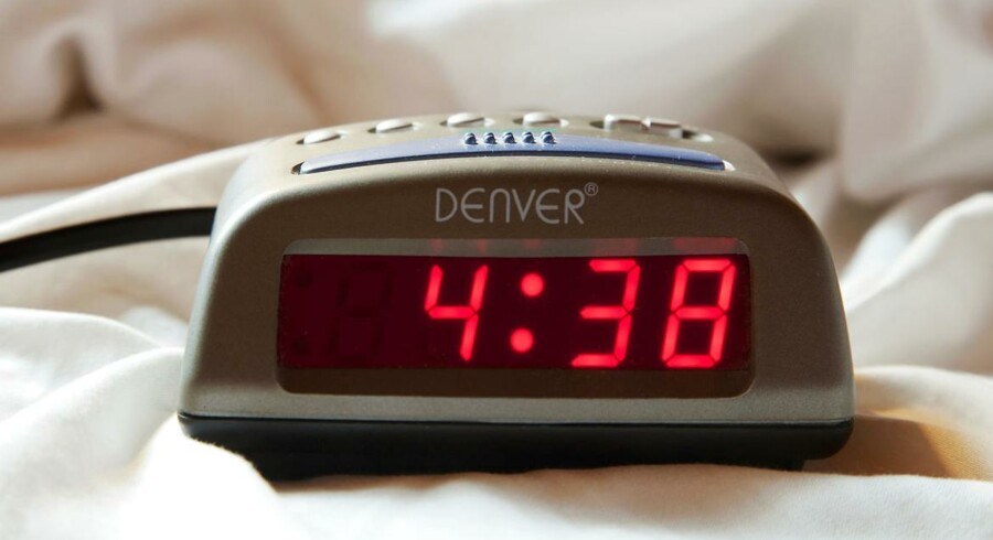 Klokken er ikke 4:38, den er faktisk kun 4:32, i hvert fald i det jyske og fynske.