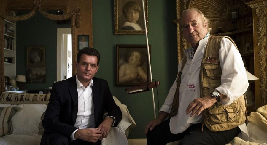Portræt af Erik Brandt og Steen Svartzengren, som fortæller om de specielle udfordringer for kendte og rige mennesker, når man er alkoholiker og vil ud af sit misbrug.