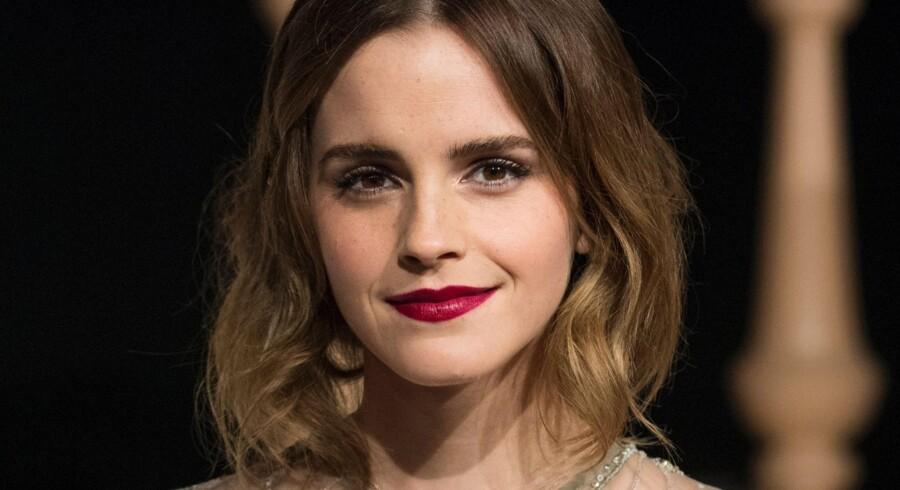 Emma Watson har for nylig besluttet, at hun er færdig med at lade fans tage selfies med hende. Scanpix/Johannes Eisele