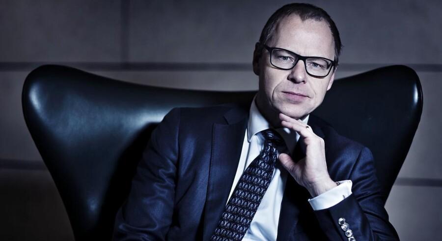 Koncernchef i Nykredit, Michael Rasmussen. (Foto: Thomas Lekfeldt/Scanpix 2013)