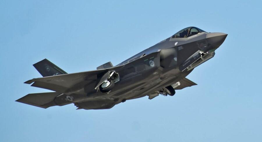 F-35 Joint Strike Fighter. Arkivfoto.