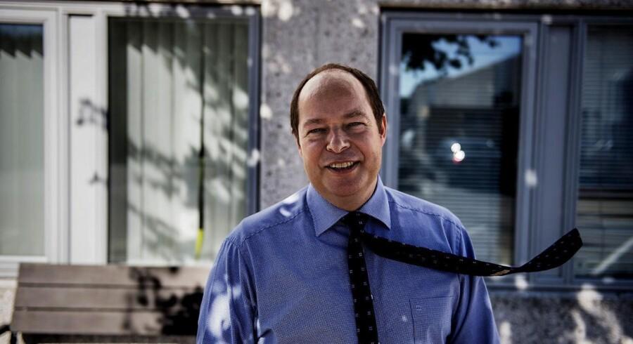 Christian Holm Christensen, administrerende direktør for Global Connect, er klar til at udvide forretningen i 2016. Arkivfoto: Emil Hougaard