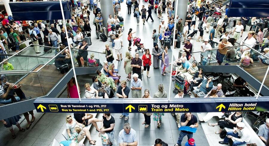 Indenrigstrafikken falder i Københavns Lufthavn (Foto: Claus Bech/Scanpix 2017)