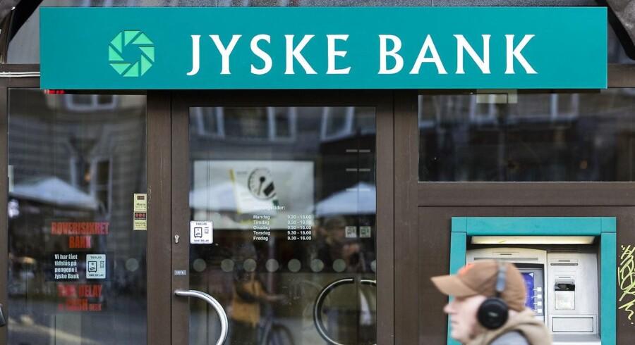 Jyske Bank får ophævet en dom i en svindelsag i Gibraltar, som banken har anket.(Foto: Jens Nørgaard Larsen/Scanpix 2013)