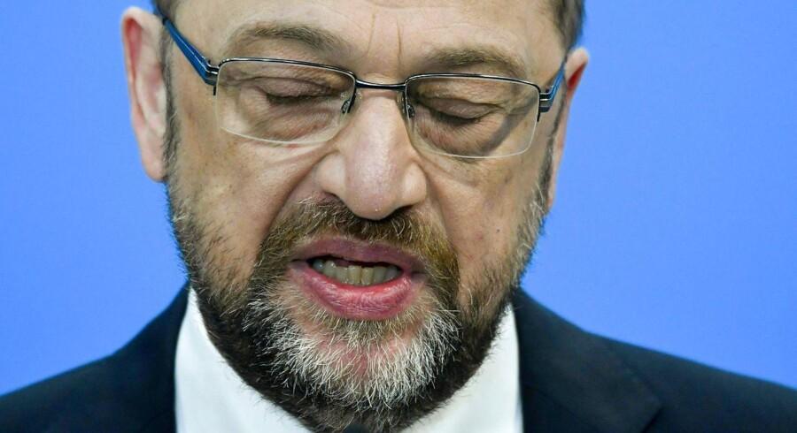 Torsdag troede Martin Schulz stadig, at han skulle være Tysklands næste udenrigsminister. Fredag gav han afkald på posten efter voldsom kritik fra egne rækker.