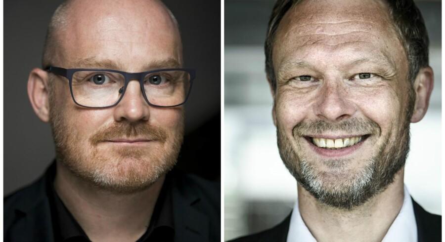 Carl Christian Ebbesen (DF) og Morten Kabell (EL) Foto: Niels Ahlmann Olesen/Mads Joakim Rimer Rasmussen
