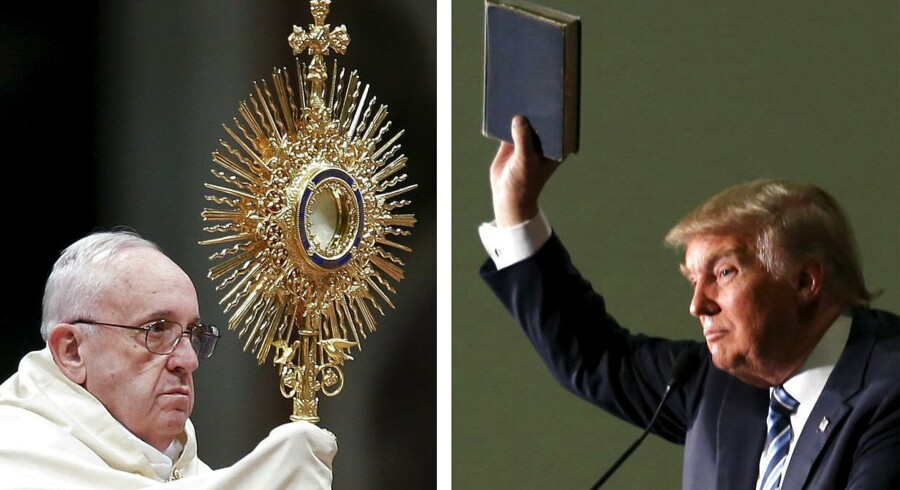 Pave Frans har i de seneste dage været på besøg i Mexico, og på flyrejsen hjem til Rom luftede han sine holdninger om den republikanske topkandidat, Donald Trump.