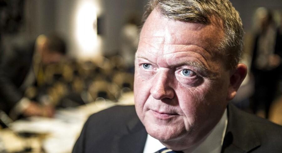 Statsminister Lars Løkke Rasmussen (V). (Foto: Mads Claus Rasmussen/Ritzau Scanpix)