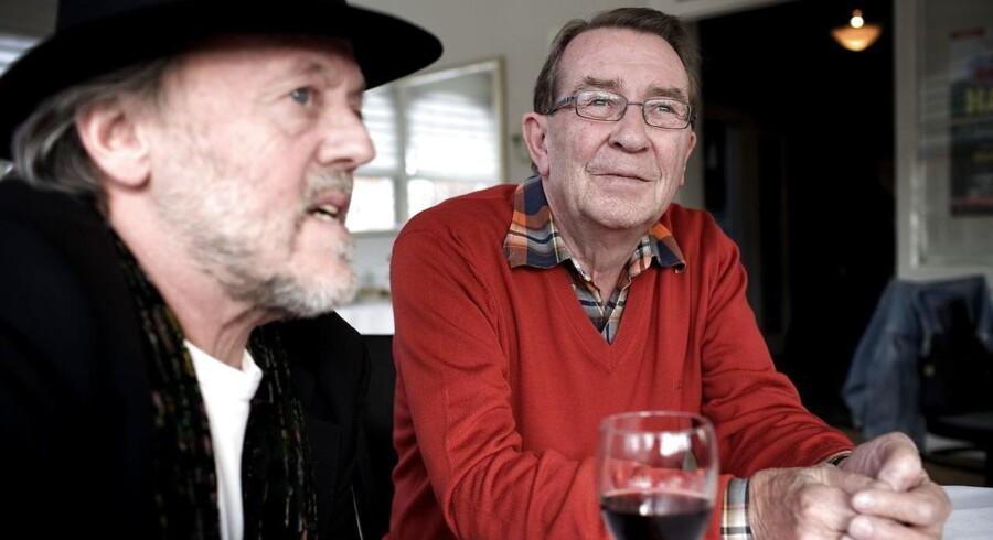 Povl Dissing og Benny Andersen. (Foto: Jeppe Michael Jensen/Ritzau Scanpix)