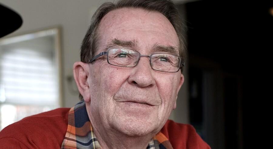 Benny Andersen modtog i dag Den Berlingske Fonds hæderspris.