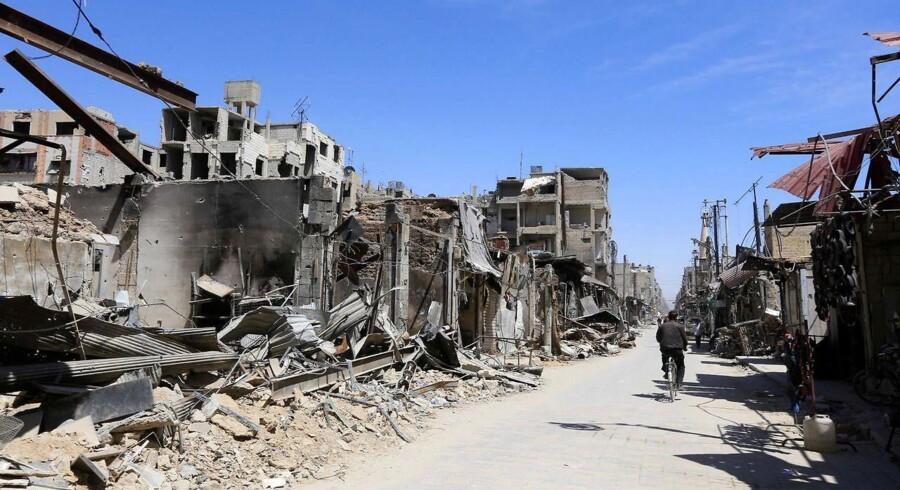 """Til trods for at IS er nedkæmpet i Irak og store dele af Syrien, er det sandsynligt, at en """"hemmelig version"""" af den militante bevægelses kerne vil overleve i begge lande, lyder det i en rapport fra FN."""