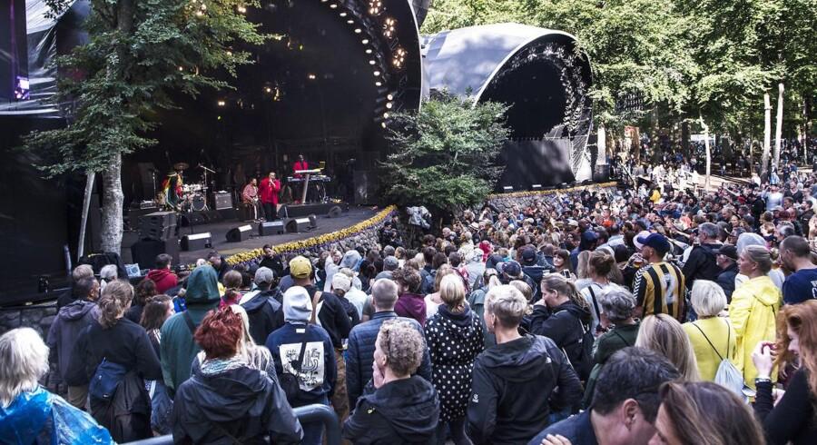 Inner Circle dansede regnen væk på Bøgescenen på Smukfest lørdag den 11. august 2018.