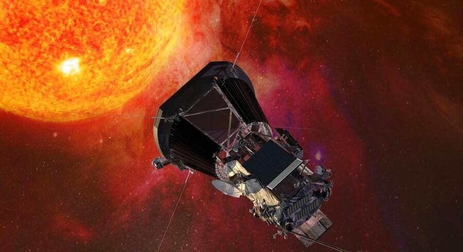 Rumfartøjet »Parker Solar Probe« skal tættere på Solen, end vi nogensinde har været før. Turen tager syv år.