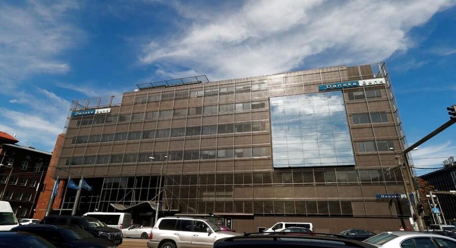 Danske Banks estiske hovedsæde i Tallinn.