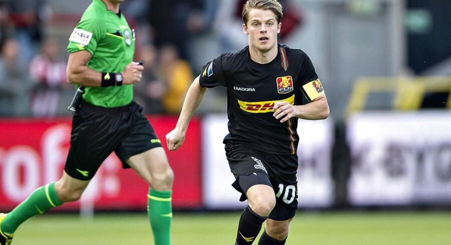 Anføreren for Danmarks U21-landshold og FC Nordsjælland, Mathias Jensen, skifter til Celta Vigo.