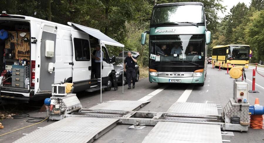 For dårlig bussikkerhed til Smukfest resulterer i, at 11 busser skal synes, mens en er sendt på værksted.