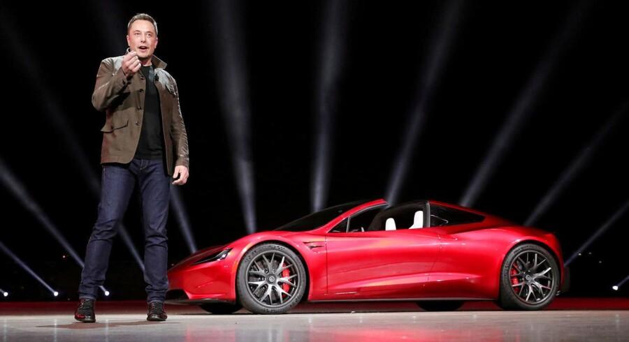 Teslas adm. direktør, Elon Musk, er klar til at tage selskabet af børsen. Det vil dog kræve noget af en udskrivning.