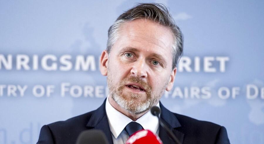 (ARKIV) Udenrigsminister Anders Samuelsen (LA) afviser i en mail til Berlingske, at den danske regering skulle lide af »russofobi«.