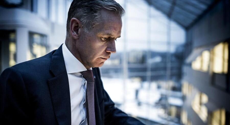 Adm. direktør i SAS Rickard Gustafson skal i 2019 forhandle ny overenskomst med selskabets piloter. Disse forhandlinger har tit været barske.