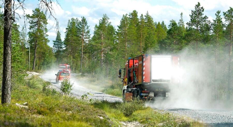 Den reducerede fare for nye skovbrande gør, at svenske myndigheder har besluttet at reducere den udenlandske hjælp.
