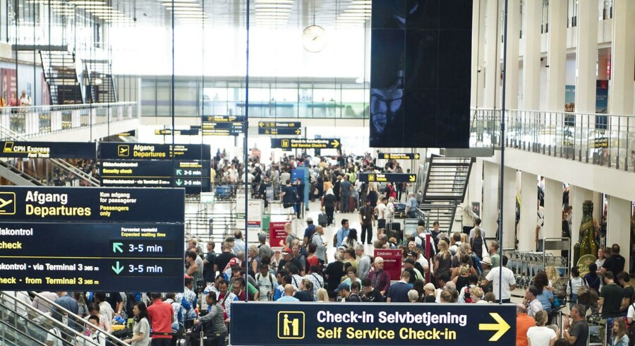 Frustration i check-in fik mand til at komme med bombetrussel i lufthavn. Manden er blevet varetægtsfængslet.