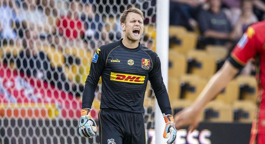 27-årige Nicolai Larsen havde en stor dag i buret for FC Nordsjælland, der torsdag besejrede AIK Stockholm.