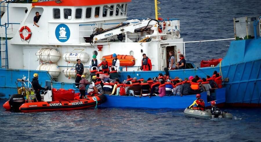 Ifølge Den Internationale Migrationsorganisation har i alt 18.653 migranter nået den spanske kyst i år.