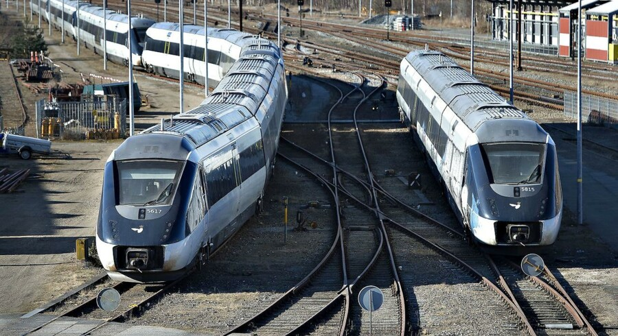 ARKIVFOTO: I slutningen af sidste måned var der også problemer med information til rejsende med tog. Det stod på fra torsdag 21. juni til søndag 24. juni. (Foto: Henning Bagger/Scanpix 2018)