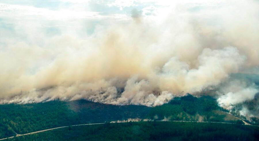 Skovbrande raserer fortsat i Sverige. Situationen bliver kaldt ekstrem, og der er risiko for, at den eskalerer yderligere. Der er ganske enkelt brug for regn. Det skriver Ritzau, fredag den 20. juli 2018