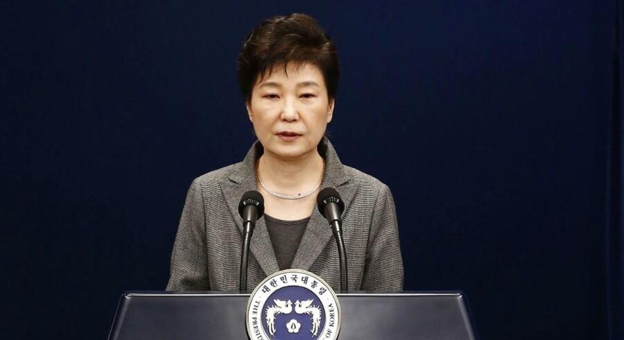 Sydkoreas afsatte præsident Park Geun-hye.