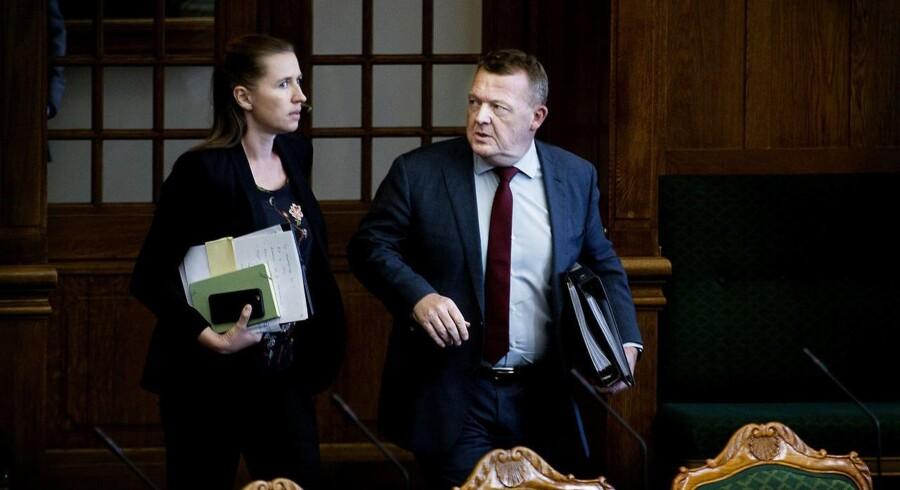 Bliver Lars Løkke Rasmussen eller Mette Frederiksen statsminister fra sommeren 2019? Lars Løkke Rasmussen skal beslutte, hvornår der skal udskrives valg.