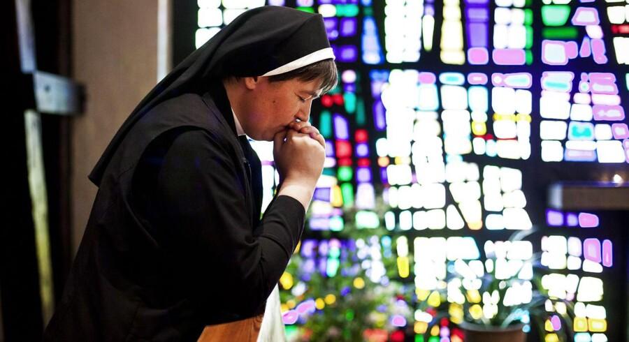 Medmindre udviklingen ændrer sig drastisk, er det snart slut med klosterlivet i Danmark.