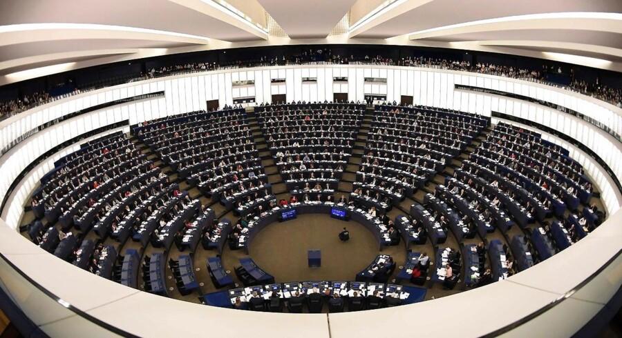 Ifølge Uffe Elbæk, leder af Alternativet, glemmer vi, at EU ikke er andet eller mere end alle os borgere og vores repræsentanter tilsammen. Danskerne er lige så meget EU som politikerne i Europa-Parlamentet og bureaukraterne i Bruxelles. Arkivfoto: Frederick Florin, Scanpix-Ritzau