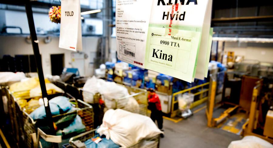 BMINTERN - Modtagelse og sortering af pakker hos Post Nord.