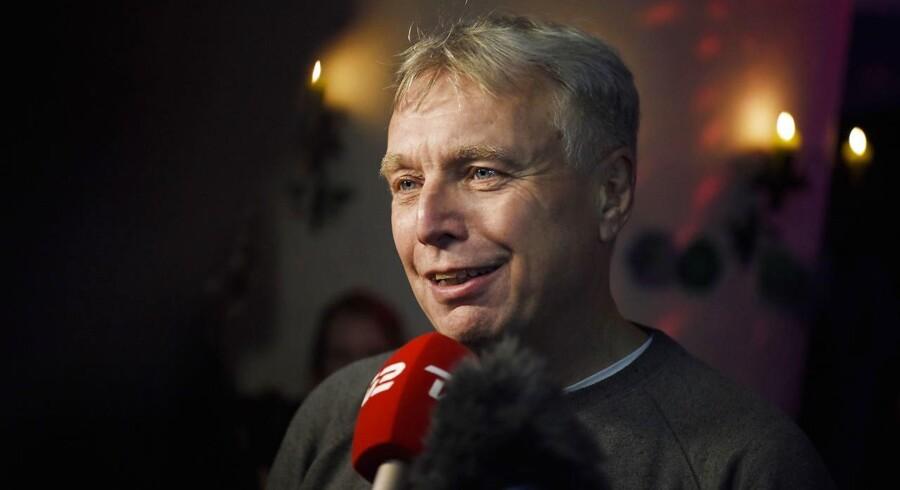 Uffe Elbæk, der her ses under sidste års kommunalvalg, har nu statsministerambitioner.