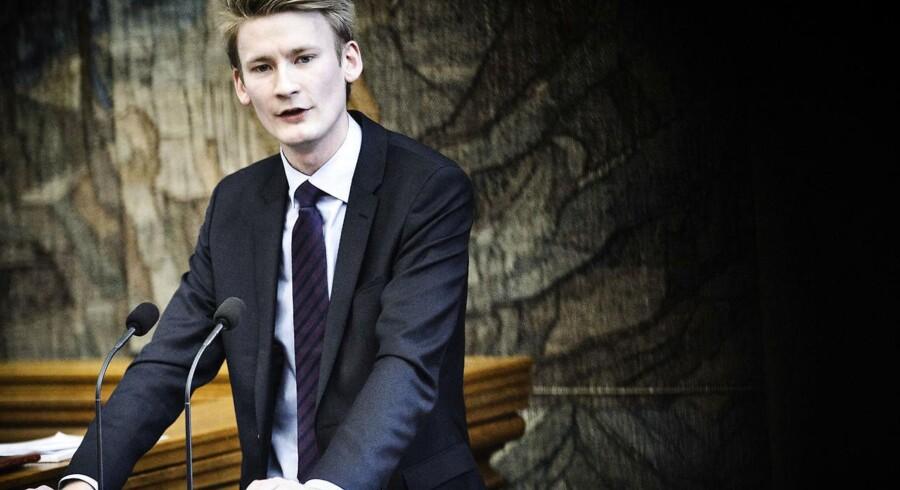 Tiårige skal straffes med indespærring, hvis de bryder loven, mener DFs retsordfører Peter Kofod Poulsen