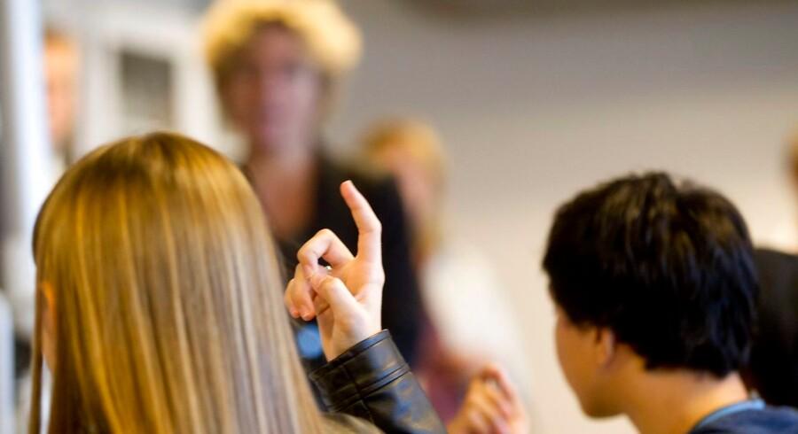 ARKIVFOTO 2014 af undervisningsminister Christine Antorini- - Se RB 18/11 2014 08.26. De fleste børn trives i folkeskolen. Børn med særlige behov trives dog knap så godt, viser ny rapport. Selv om størstedelen af børnene i den danske folkeskole trives, går det knap så godt med at få børn med særlige behov til at føle sig tilpas i skolen. (Foto: Johan Gadegaard/Scanpix 2014)