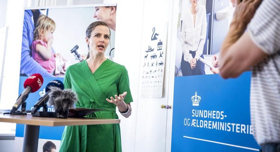 Sundhedsminister Ellen Trane Nørby.