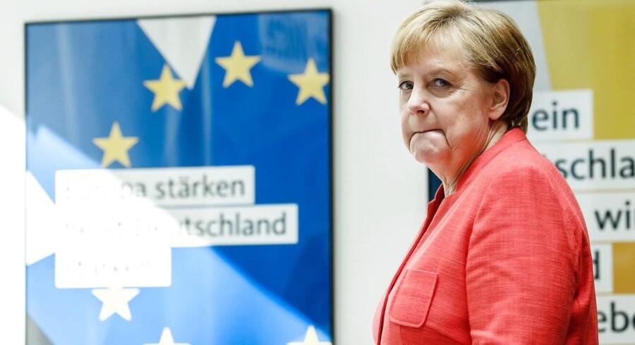 Söders CSU har mistet troen på, at den tyske forbundskansler Angela Merkels CDU kan sætte en stopper for indvandringen, som det mindre bayerske søsterparti kræver.
