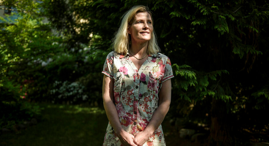 Anna Libak i hendes have