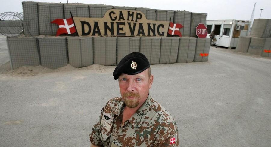 (Arkivbillede) Den daværende bataljonschef, oberst John Dalby, er blandt de mange, der er blevet afhørt i sagen. (Foto: Henning Bagger/Scanpix 2011)