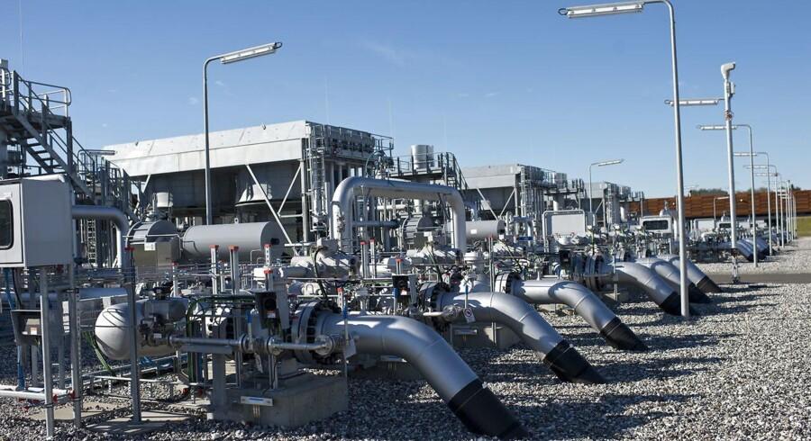 Energinet DK's gasanlæg ved Egtved.