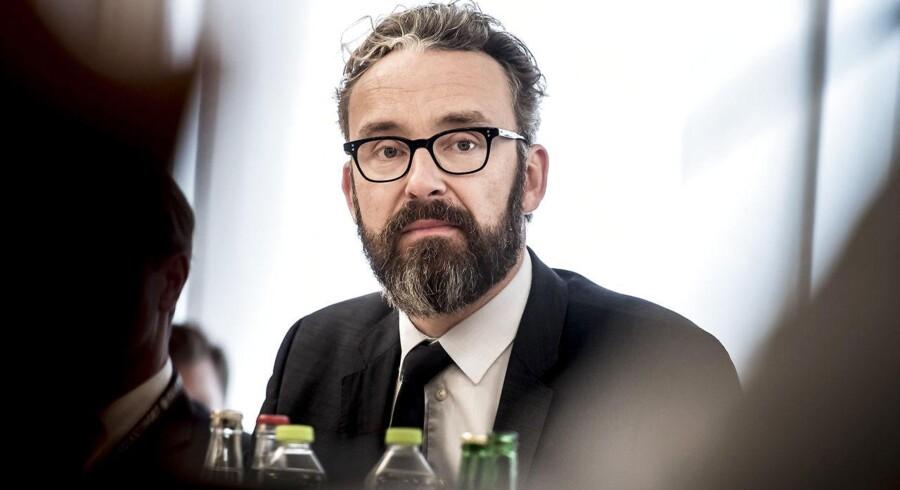Transport-, bygnings- og boligminister Ole Birk Olesen.