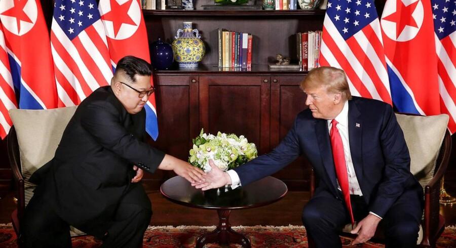 Trump kritiseres både i Sydkorea og Japan for at ville stoppe fælles militære manøvrer med Sydkorea.