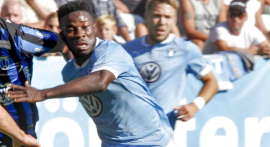 Den ghanesiske fodboldspiller Kingsley Safro er ved retten i Malmø blevet idømt to år og otte måneders fængsel for i to tilfælde at have haft sex med en mindreårig.