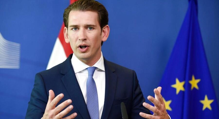 Østrigs forbundskansler, Sebastian Kurz, gør klar til et opgør med »politisk islam«.