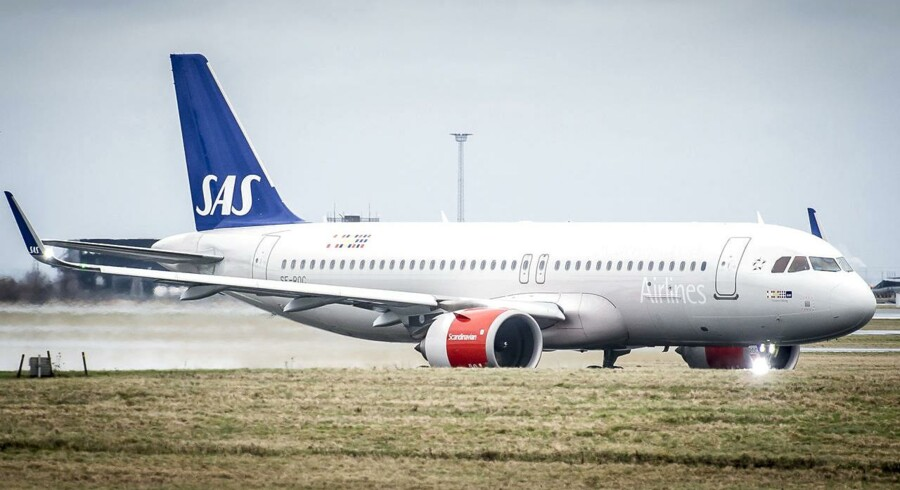 (ARKIV) Scandinavian Airlines Systems fly.