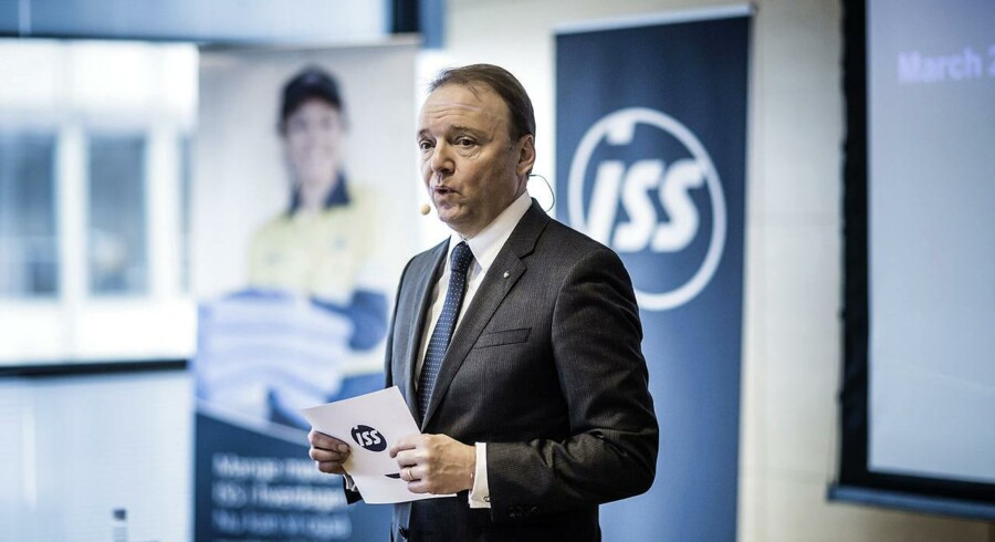 Arkivfoto: Jeff Gravenhorst, Group CEO hos ISS.