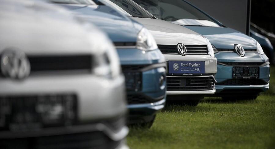 Nye regler gør nye biler dyrere. Arkivfoto (Foto: Liselotte Sabroe/Scanpix 2017)