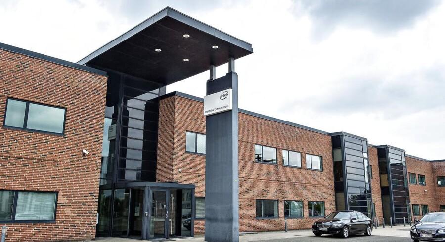 IT virksomheden Intel Afdelingen i Aalborg.